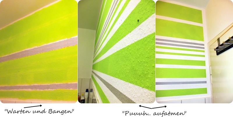 Wandfarben gestaltung streifen