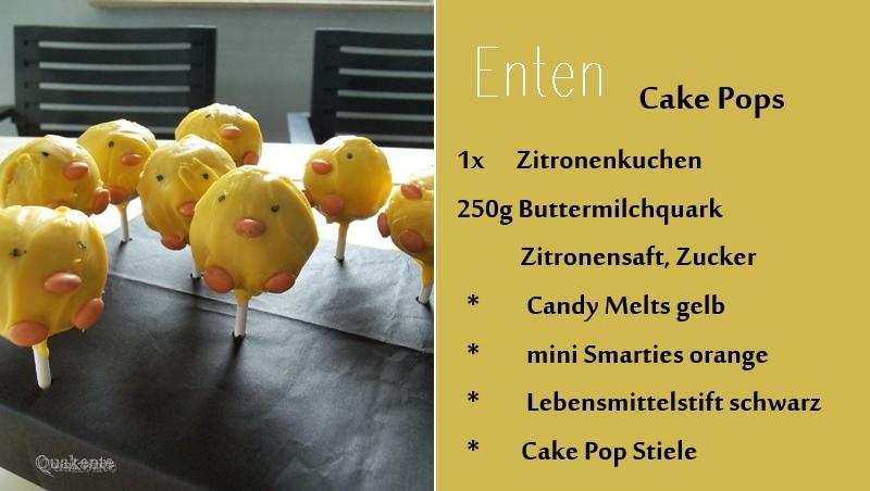 Enten Cake Pops