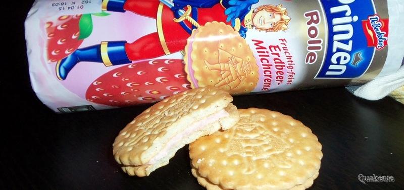 Prinzenrolle Erdbeer Milchcreme