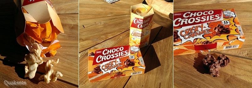Choco Crossies Crispy Caramel & Choclait Chips Creamy Caramel