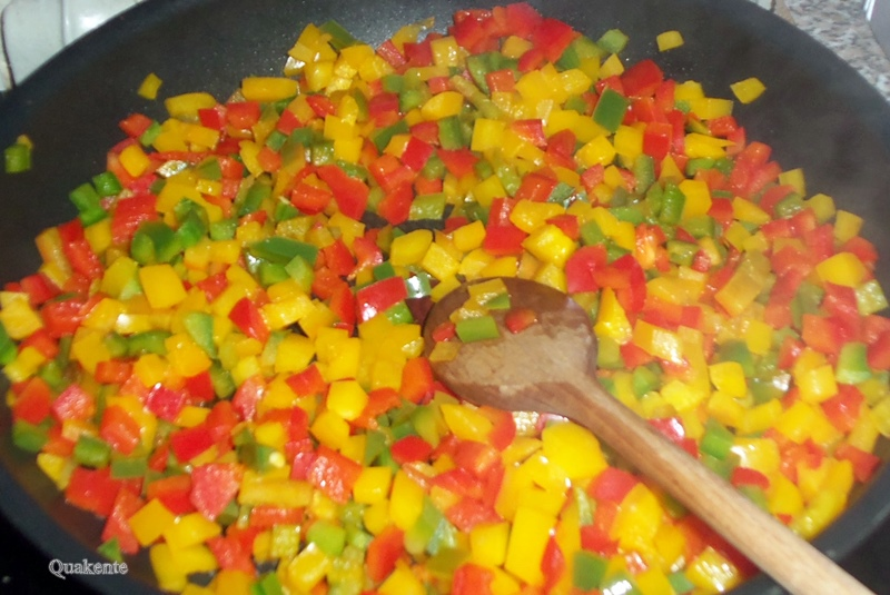 Nudel-Gemüsepfanne