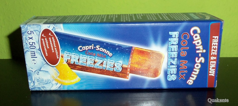 Capri Sonne Freezies