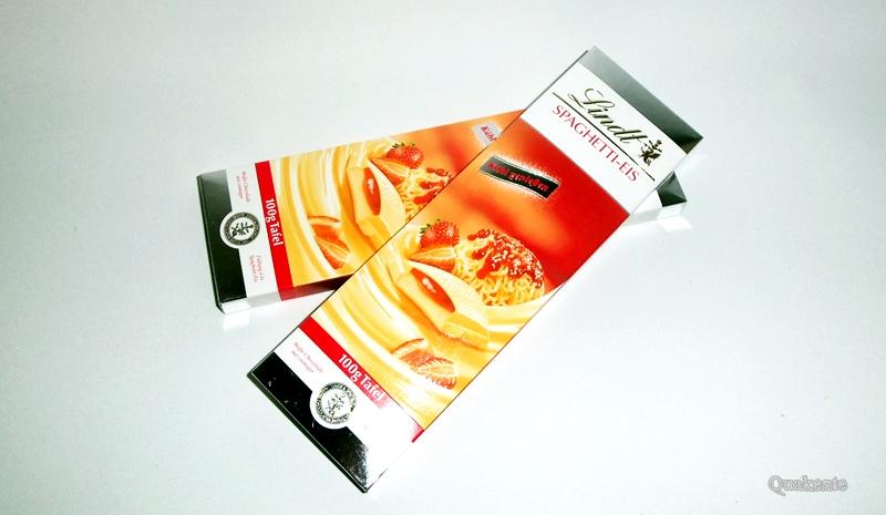 Lindt Spaghetti-Eis