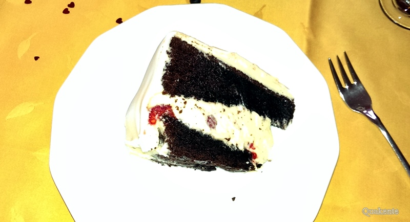 Chocolate Cake with White Chocolate Buttercream