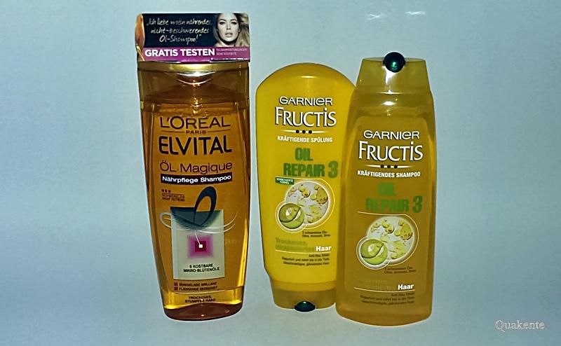 Fructis Oil Repair 3 & ELVITAL ÖL Magique