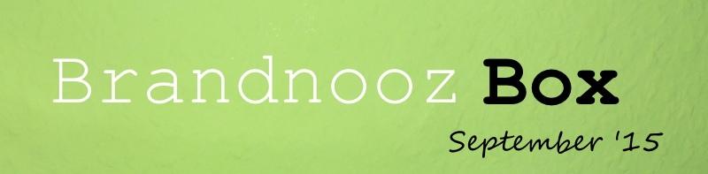 Brandnooz Box September 2015