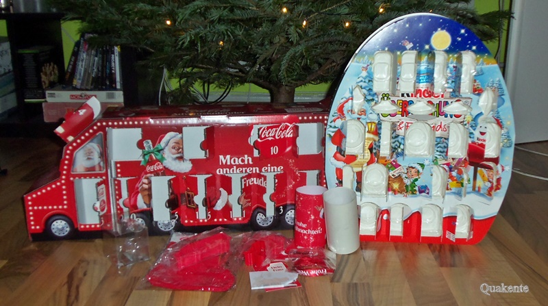 adventskalender 2015 kinder berraschung friends coca cola quakente 39 s produkttest blog. Black Bedroom Furniture Sets. Home Design Ideas
